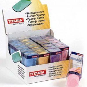Titania schuurblokje Voetpunt Twente